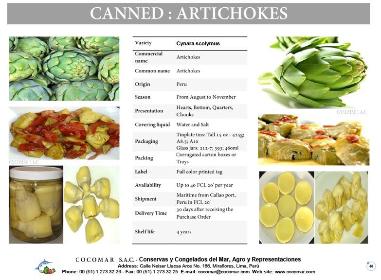 2.- Artichokes