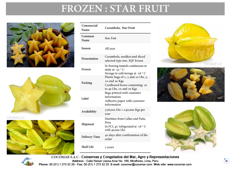 3.- Star Fruit