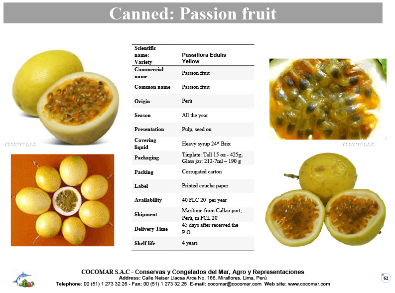 Canned – Passion fruit