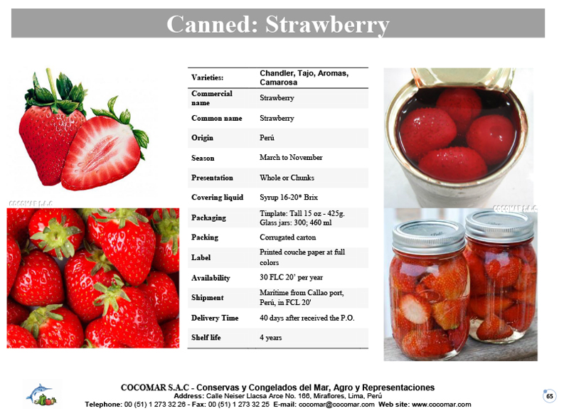 Canned – Strawberry